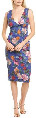 Nicole Miller Reine Rose Sheath Dress