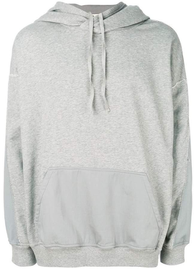 Damir Doma back print hoodie