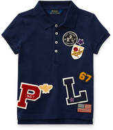 Ralph Lauren Patch-Embellished Cotton Polo