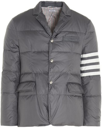 Thom Browne 4-Bar Quilted Jacket