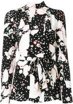 Valentino floral print blouse - women - Silk - 40