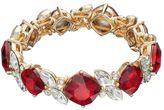 Dana Buchman Square & Marquise Stretch Bracelet