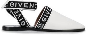 Givenchy logo strap mules