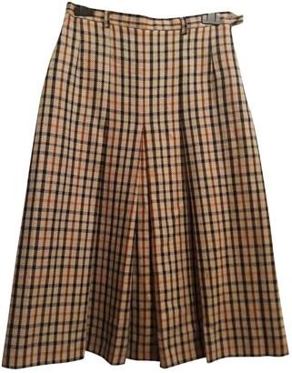 Daks London Wool Skirt for Women