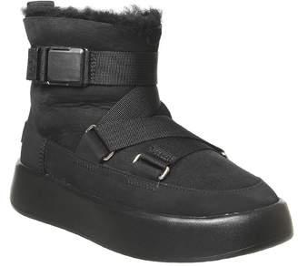 UGG Classic Boom Boot Buckle Black