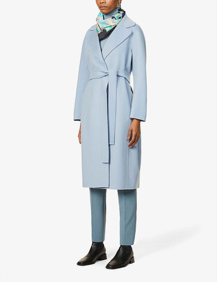 S Max Mara Aria belted wool coat
