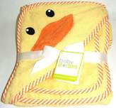 Baby Starters Darling Duck Hooded Bath Towel and Washcloth Set