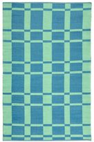 Safavieh TMF123B-4 Thom Filicia Collection Hand-Knotted Wool Indoor/ Outdoor Area Rug, 4-Feet by 6-Feet