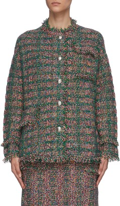 Portspure Oversized tweed jacket
