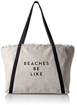 Milly Canvas Tote Beaches Be Like
