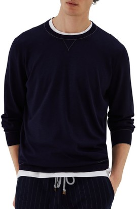 Brunello Cucinelli Wool & Cashmere Sweatshirt