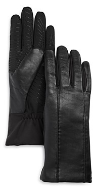 URBAN RESEARCH U/R Flex Seam Faux-Fur Lined Tech Gloves