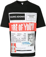Loewe fire of youth poster T-shirt