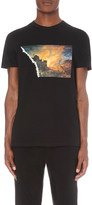 Blood Brother Torn-print cotton-jersey t-shirt