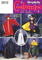 Simplicity Sewing Pattern 5512 Child Costumes