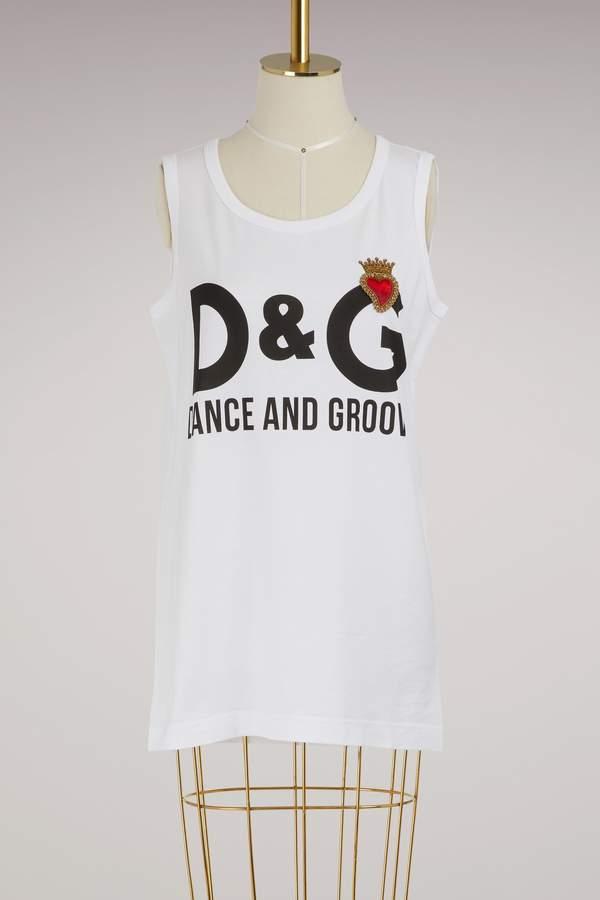 Dolce & Gabbana Dance & Groove tank top