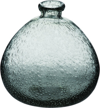 Transpac Glass Small Clear Spring Oblong Vase