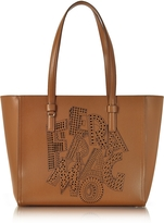 Salvatore Ferragamo Bonnie Sella Leather Tote