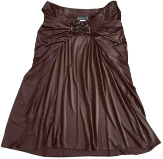 Alberta Ferretti Brown Skirt for Women