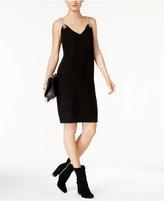 MICHAEL Michael Kors Chain-Link V-Neck Dress