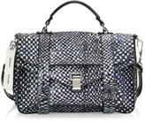 Proenza Schouler x Harmony Korine Medium PS1 Leather Satchel