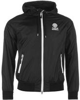 Franklin And Marshall Crest Zip Hooded Jacket