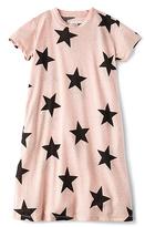 Nununu Star A Dress in Pink