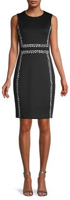Calvin Klein Stretch Knit Sheath Dress