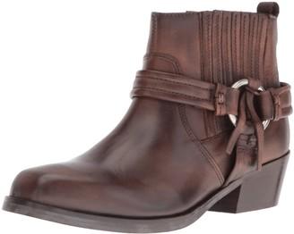 Diesel Womens Squar Harless Bootie Shoe Squar Harless Bootie Shoe Brown Size: 5 UK