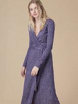 Diane von Furstenberg New Julian Long Wrap Dress