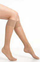 Oroblu Women's 'Mi-Bas Repos 70' Sheer Support Knee Highs