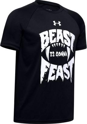 Under Armour Boys' UA Tech Beast Gonna Feast Short Sleeve