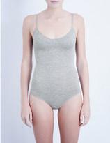 Base Range BASERANGE Sleeveless stretch-bamboo jersey body