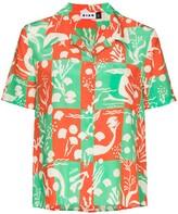 Thumbnail for your product : Rixo Rickie Sea Life print shirt