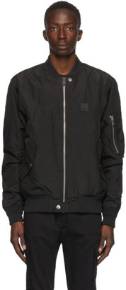 Diesel Black J-DUST KA Bomber Jacket