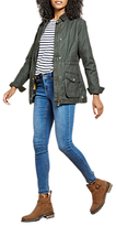 Joules Balmoral Wax Style Jacket, Everglade