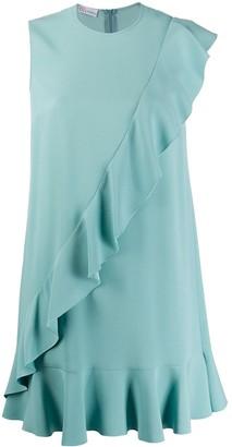 RED Valentino Ruffled Short Dress