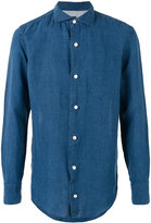 Eleventy linen shirt - men - Linen/Flax - 39