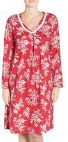 Carole Hochman Print Knit Sleepshirt