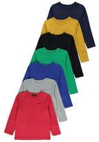 George Assorted Long Sleeve Tops 7 Pack