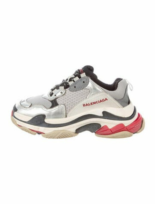 Balenciaga Triple S Chunky Sneakers Grey