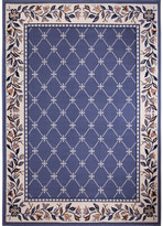 Dynamix Home Premium Geometric Country Blue Area Rug Rug