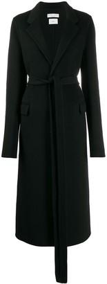 Bottega Veneta single-breasted belted coat