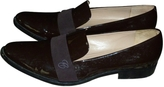 Chloé Brown Patent leather Flats