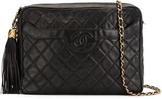 Chanel Pre Owned CC motif shoulder bag