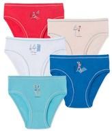 Petit Bateau Pack of 5 girls pants