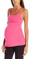 Leading Lady Women's Empire Waist Nursing Cami with Lace Back