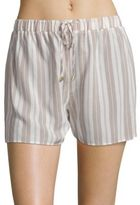 Hanro Lara Striped Pajama Short