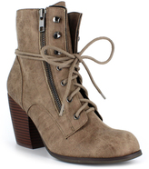 DOLCE by Mojo Moxy Brown Heeled Combat Boot