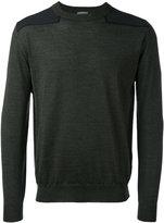 Lanvin classic knitted sweater - men - Virgin Wool - S